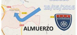ALMUERZO SECCIÓN KARMANN & CABRIO'S EN TORRES-TORRES