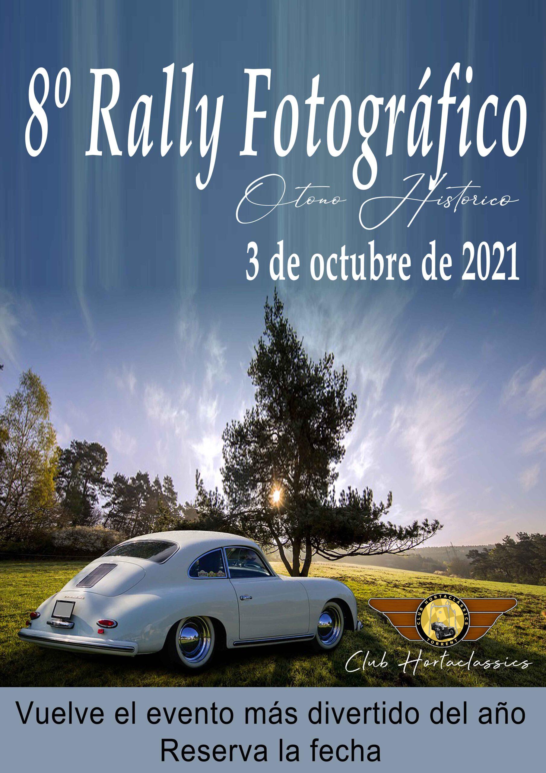 Cartel rally fotográfico 2021